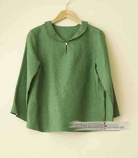 короткие-блузки-вариант-для-маленького-роста