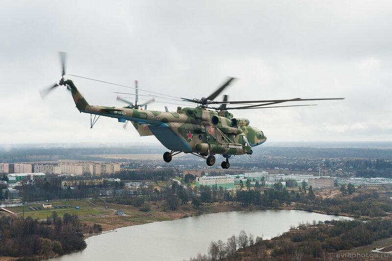 Миль Ми-8МТВ-5 (RF-90424 / 31 красный) ВКС России 121_D700533