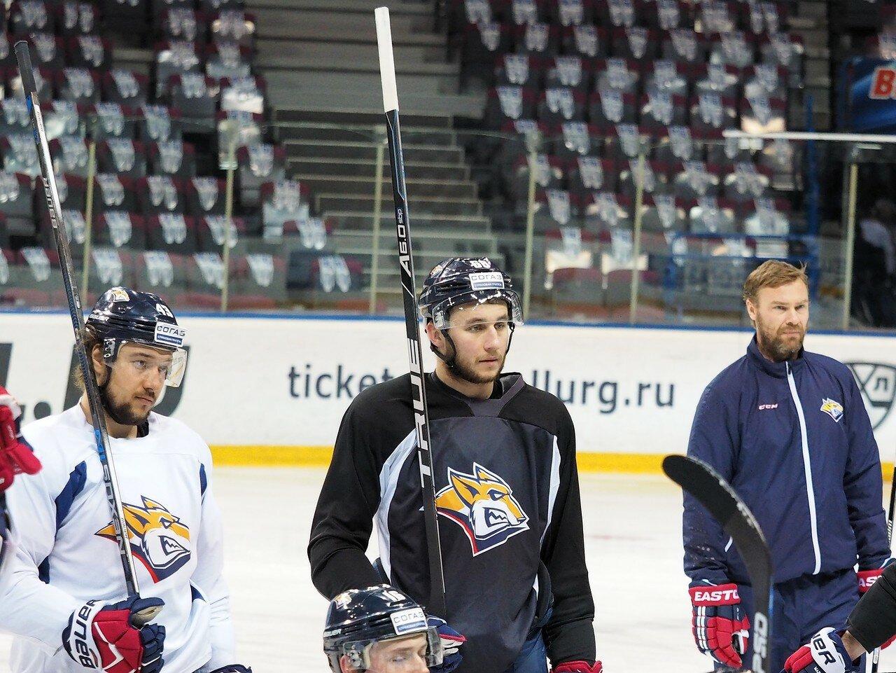 19 Открытая тренировка перед финалом плей-офф КХЛ 2017 06.04.2017