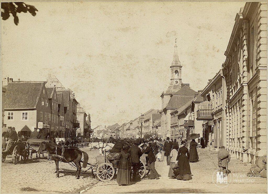 1878-1879 Tilsit. Deutschestrasse.jpg