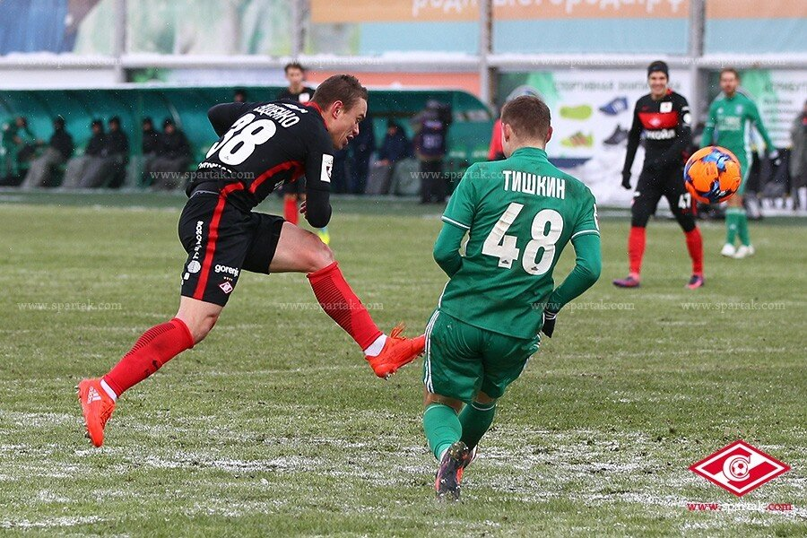 Андрей Ещенко: «Спартаку» было тяжело в матче с «Томью»