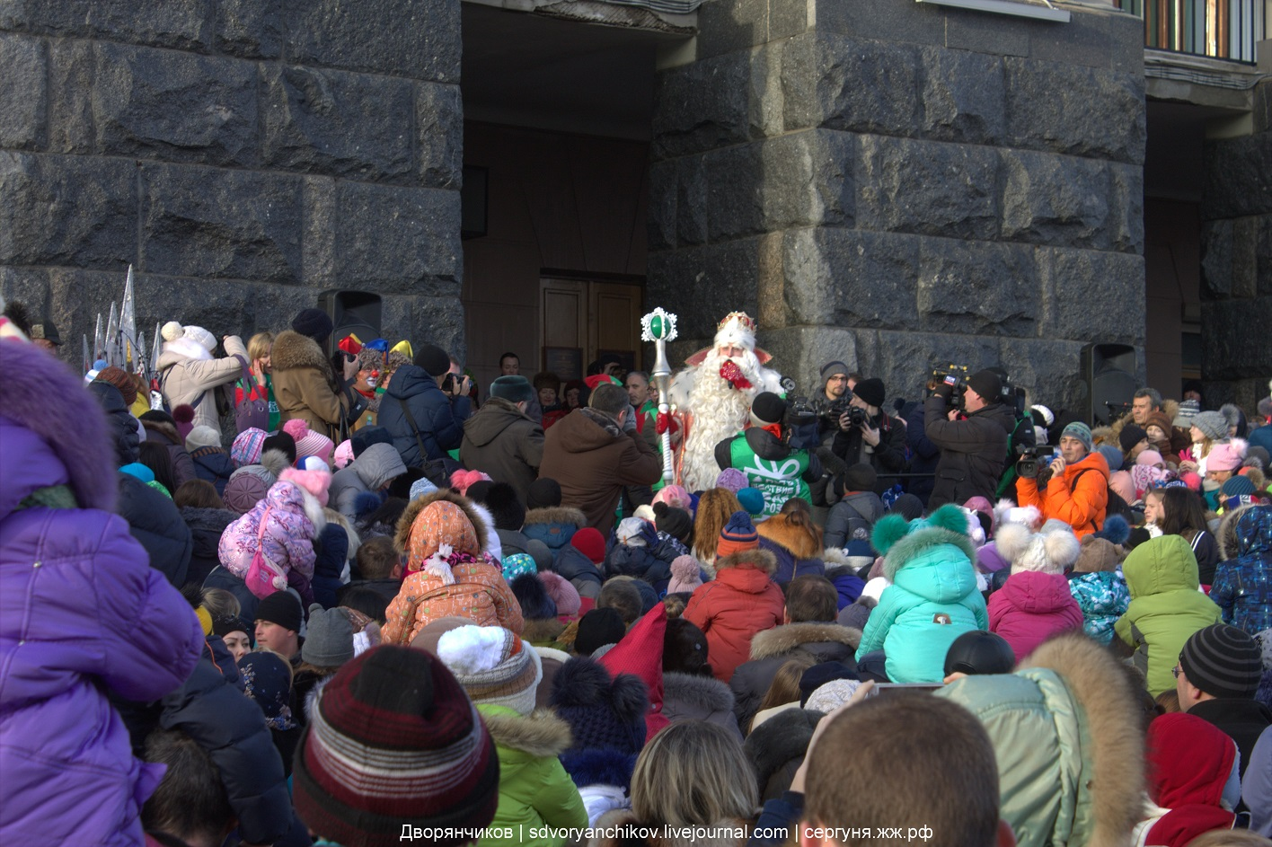 Дед мороз в Волгограде - 10 декабря 2016