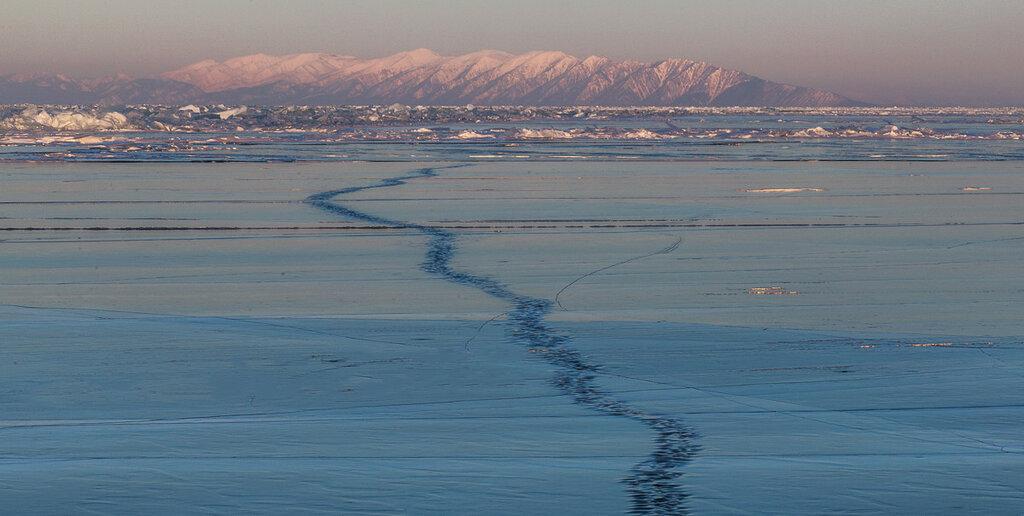 Байкал в марте