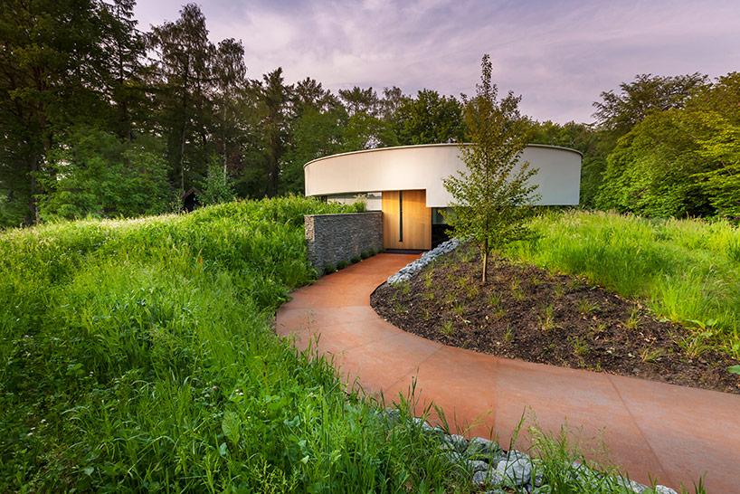 Загородный дом с 360 гр обзором в Голландии