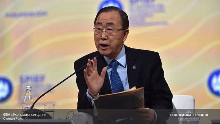Генеральный секретарь ООН приветствовал соглашение опрекращении огня навостоке Украинского государства