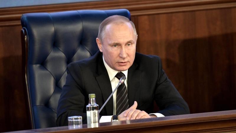 Путин соединил ряд учреждений ядерного оружейного комплекса РФ