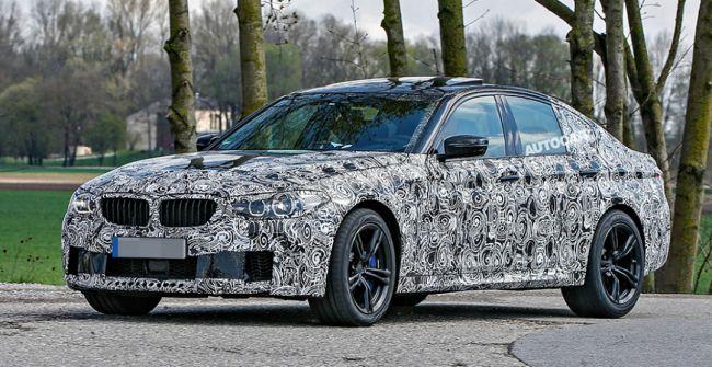 Компания BMW вывела назавершающие тесты модель M5 нового поколения