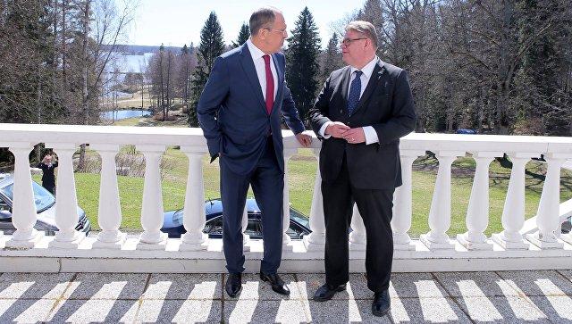 Лавров пошутил опобеде финнов впресс-конференции