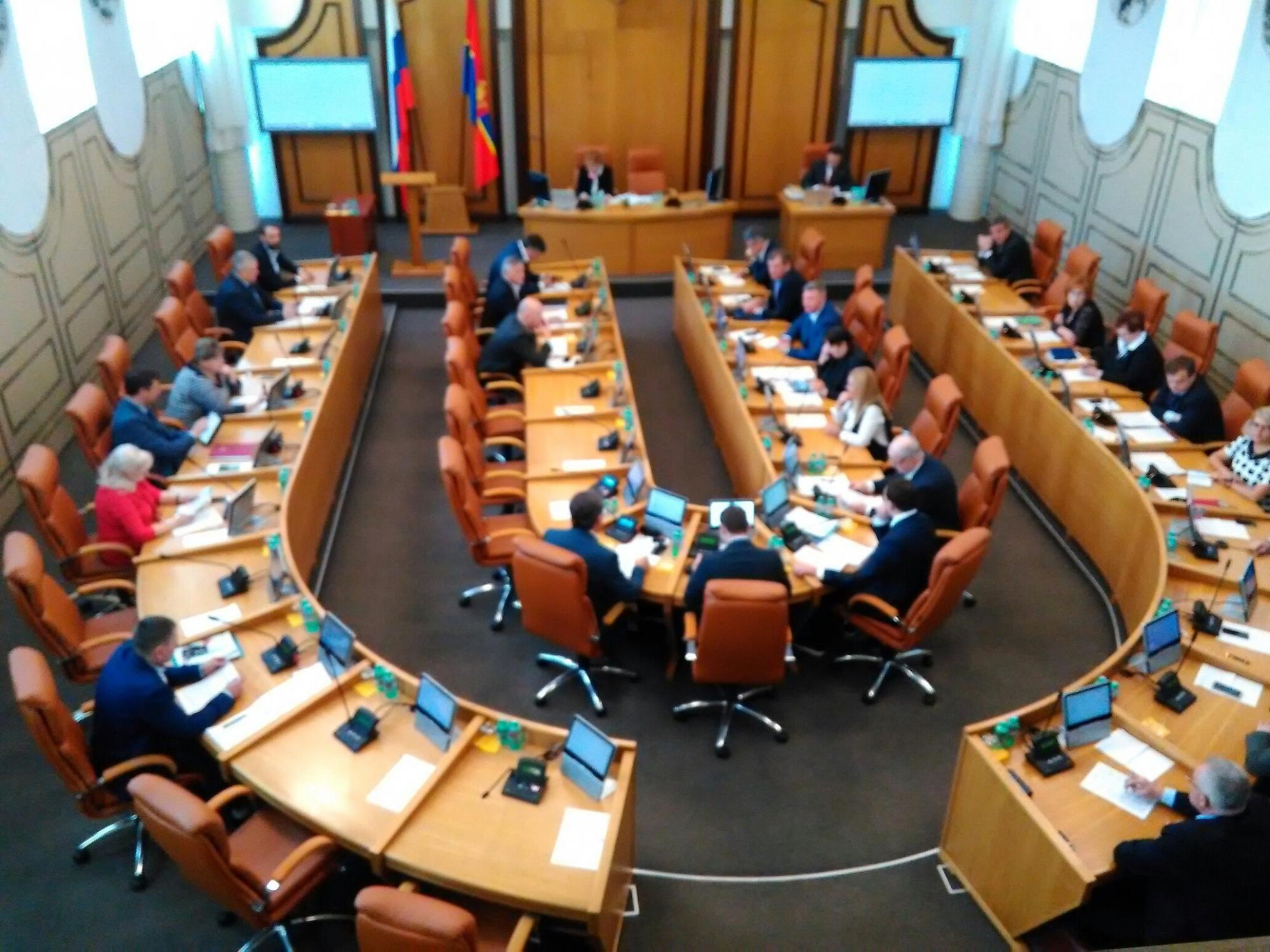 Вкрасноярском Горсовете отказались отнять полномочий 17 депутатов