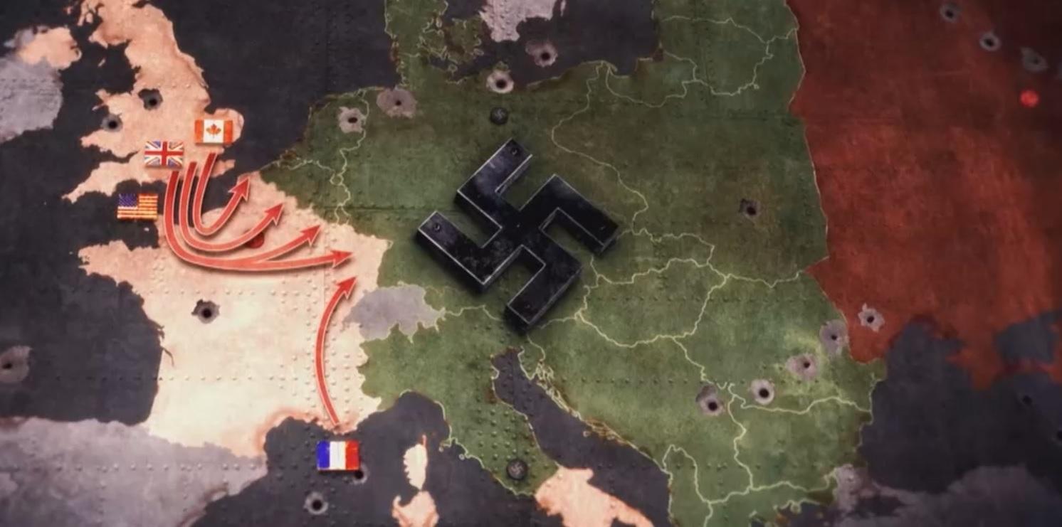 Kriegsende in Europa - Конец войны в Европе, Документальный фильм на немецком языке