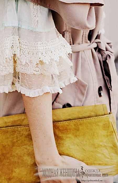 Переделка одежды. Удлиняем рукав с помощью кружевной вставки