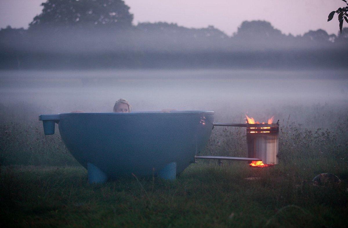 Ванная под открытым небом