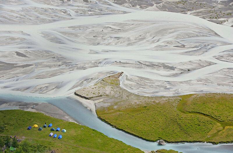 Река Аккем. Горный Алтай