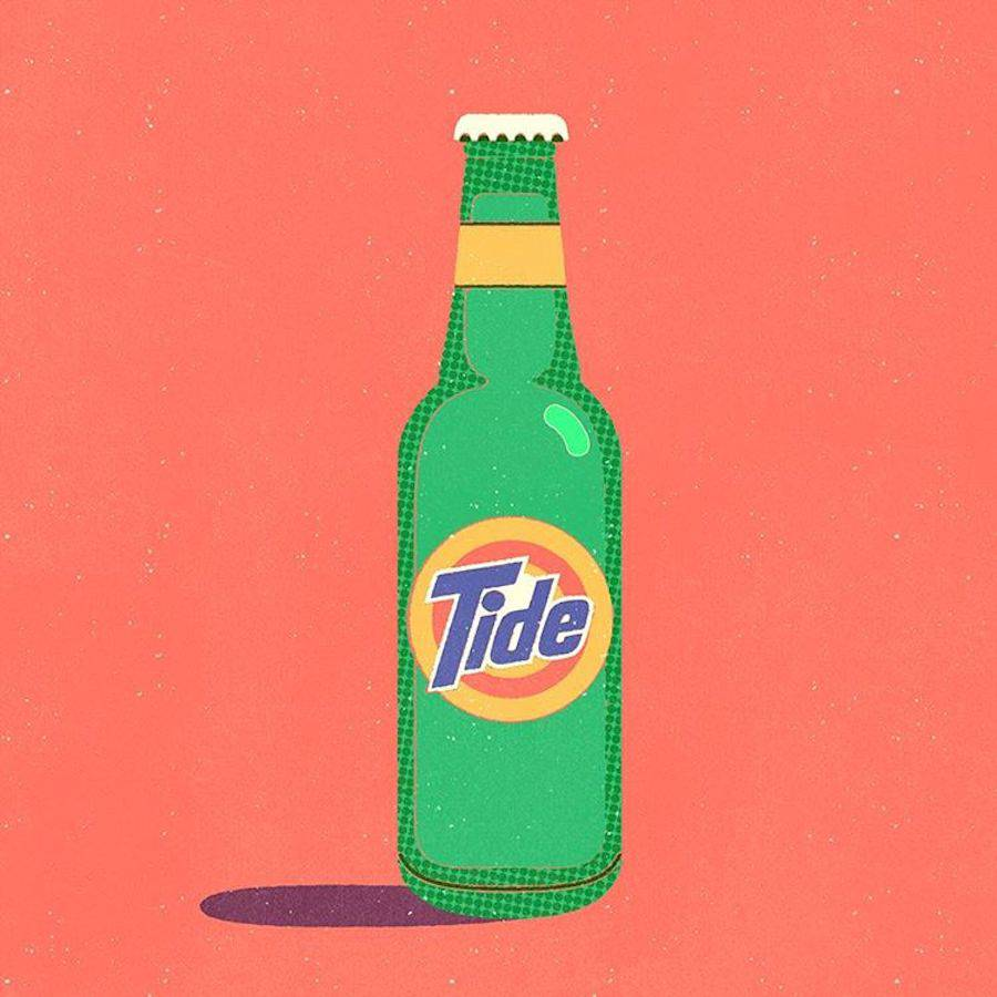 Inventive Brand Mix Digital Illustrations