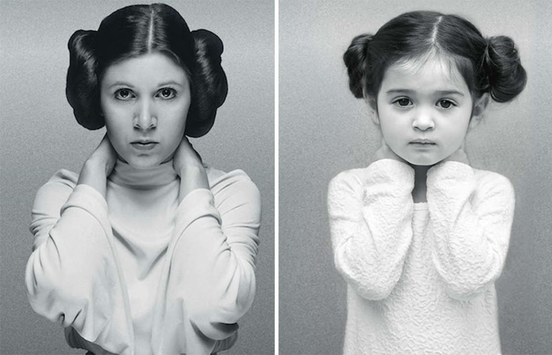 This 3-year-old girl dresses up as famous women to support her sick grandmother (18 pics)
