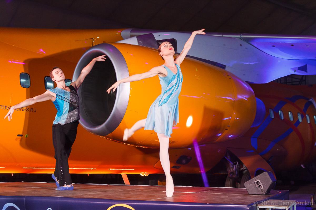 балет самолёт презентация ан-148 саратовские авиалинии вера шарипова фото 16