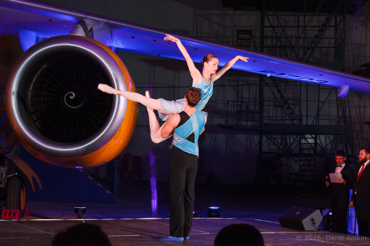 балет самолёт презентация ан-148 саратовские авиалинии вера шарипова фото 17