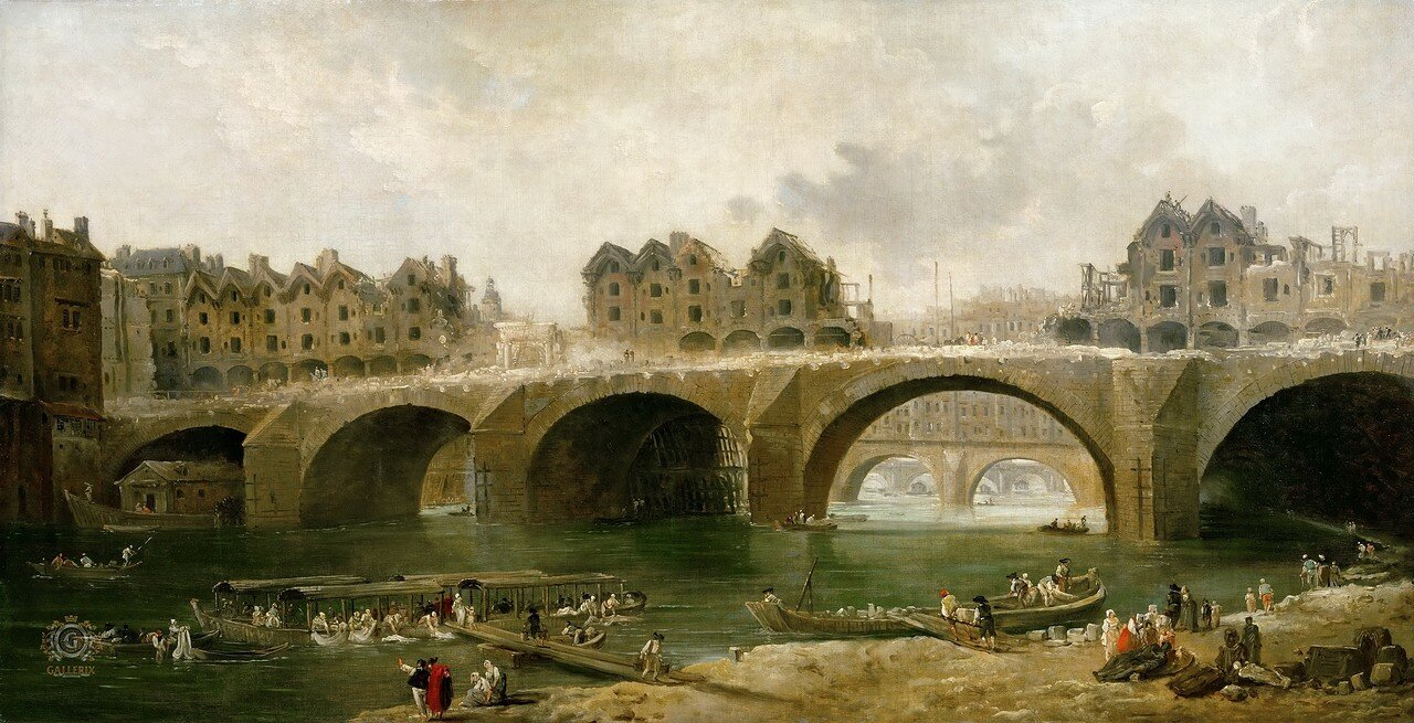 514359 Снос домов на мосту Нотр-Дамм 1786 Юбер Робер.jpg