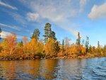 Осень на озере Пермус.