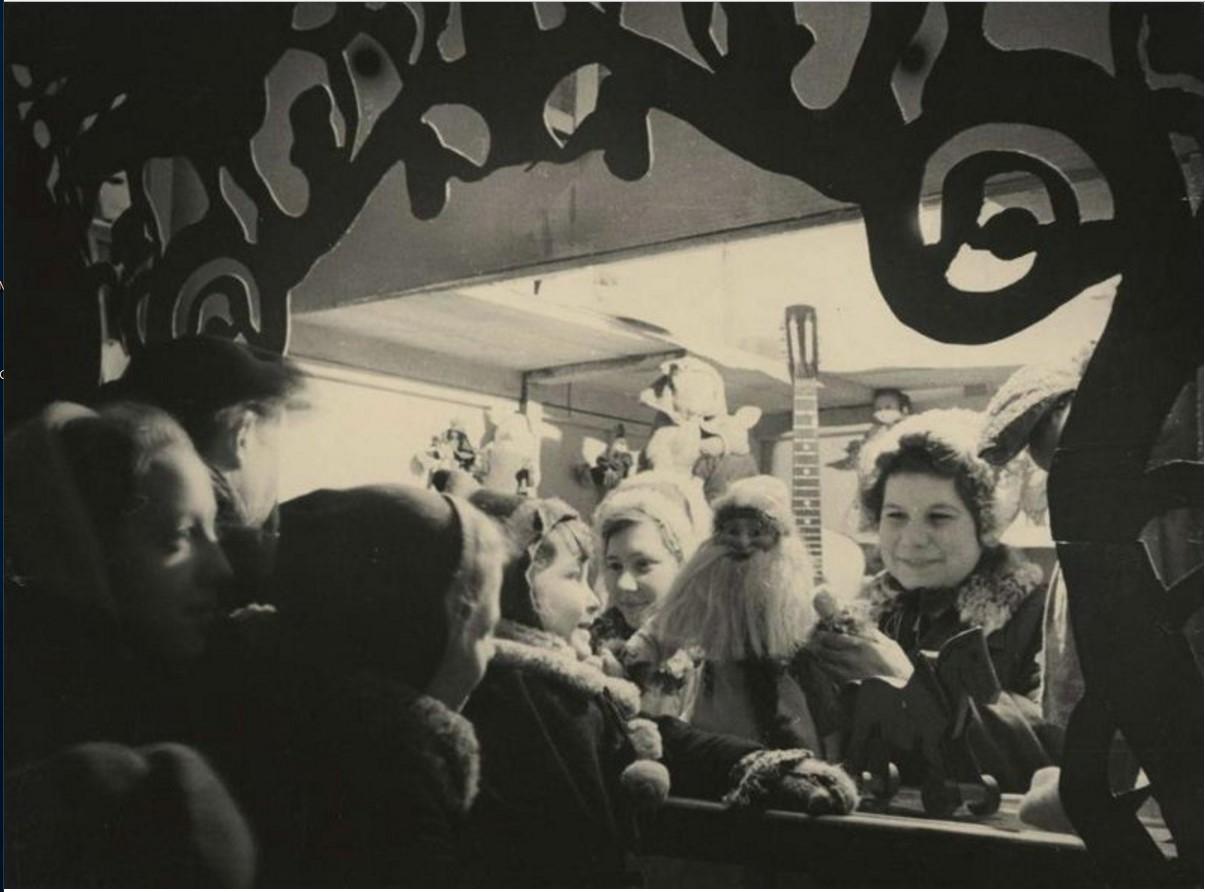 1949. Перед Новым годом