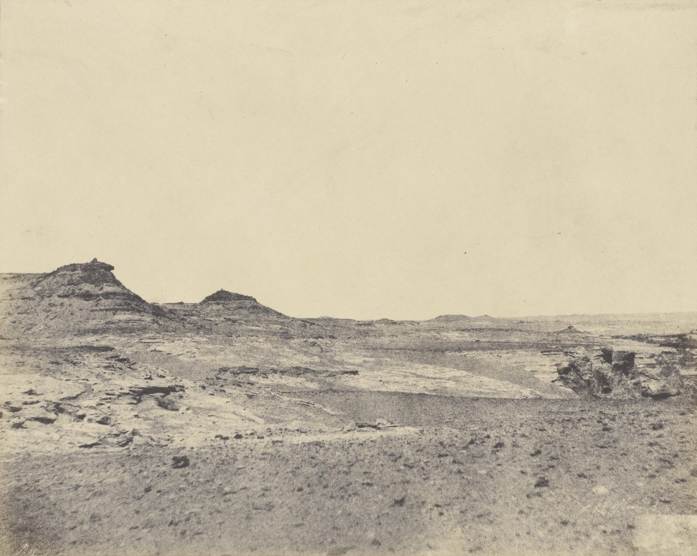 Полевые исследования вблизи Гебель Абусира