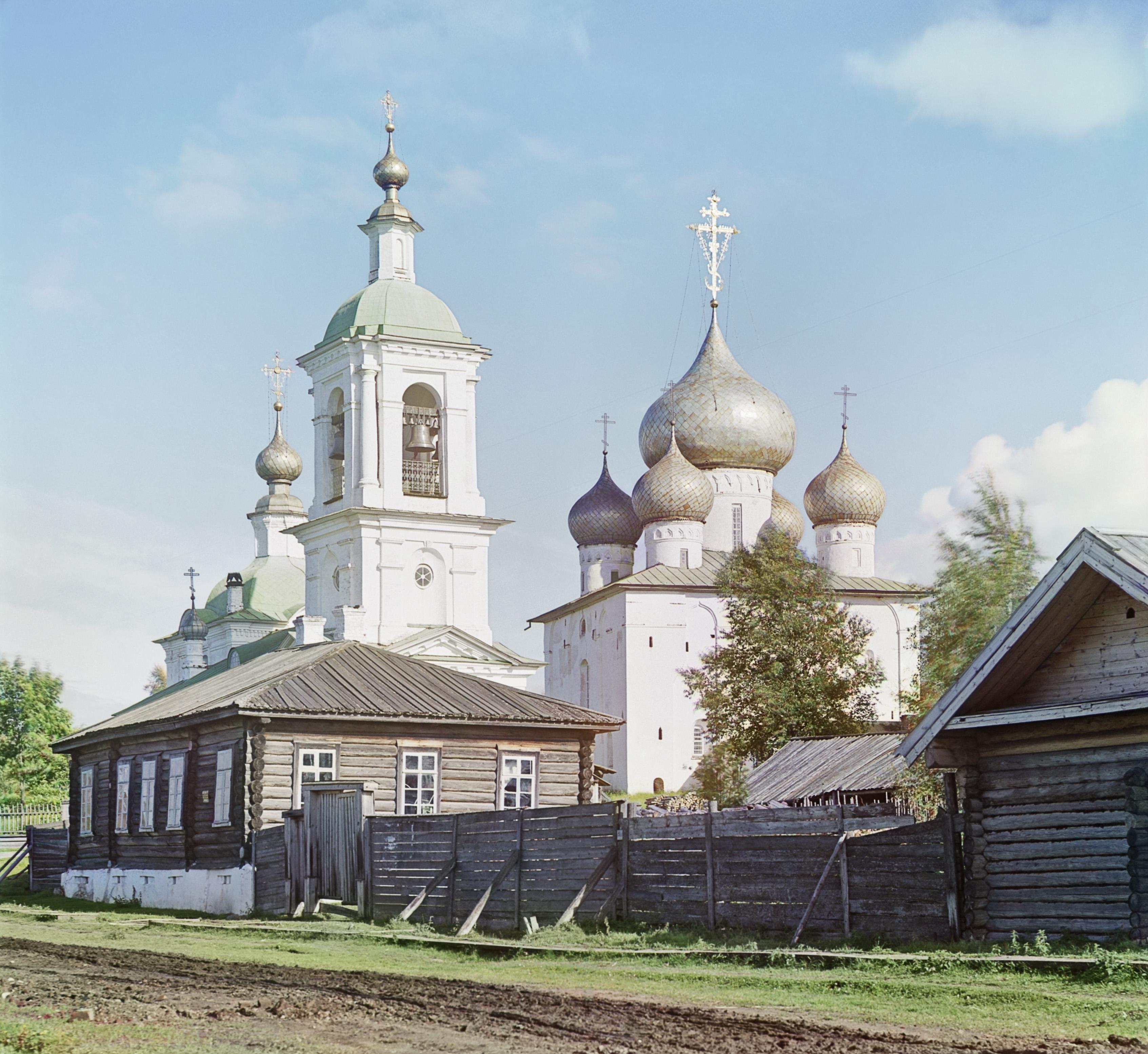 Белозерск. Церковь во имя Успения Божией Матери