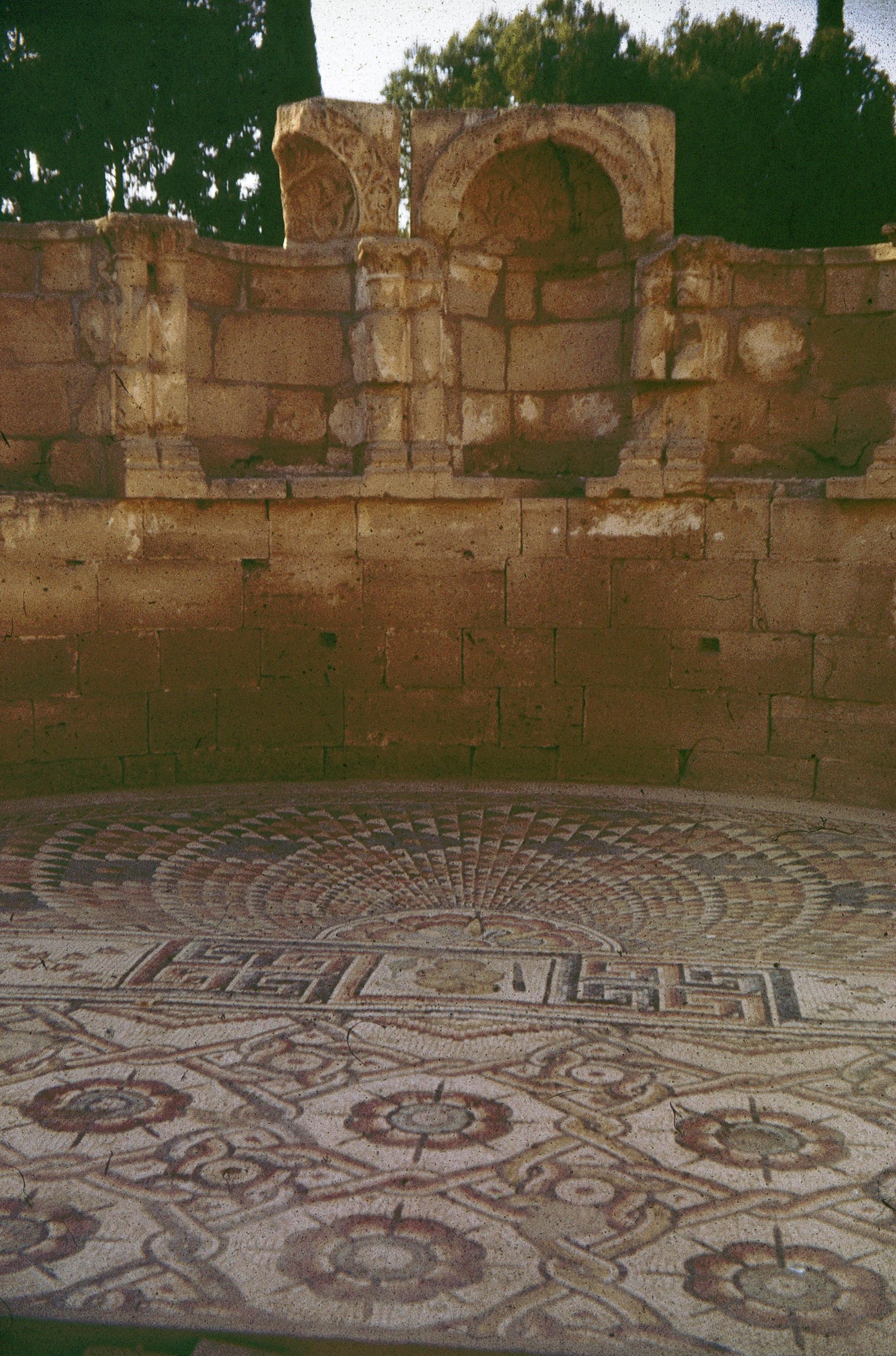 Иерихон. Дворец халифа Хишама