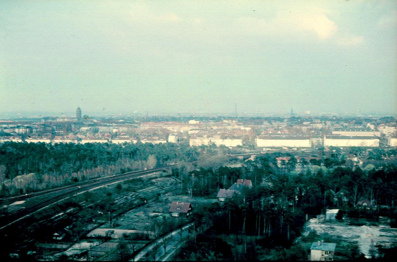 Берлин. Панорама города