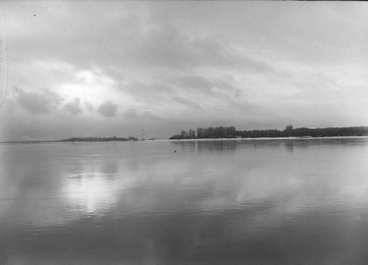 29 сентября 1914. Вид на реку Енисей у г. Красноярска