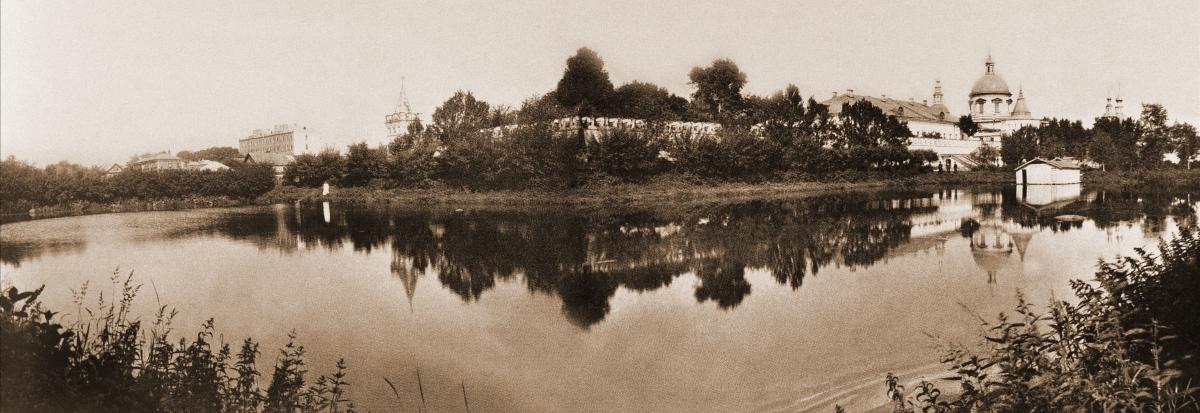 Пруды к югу от монастыря. Фотография начала XX века