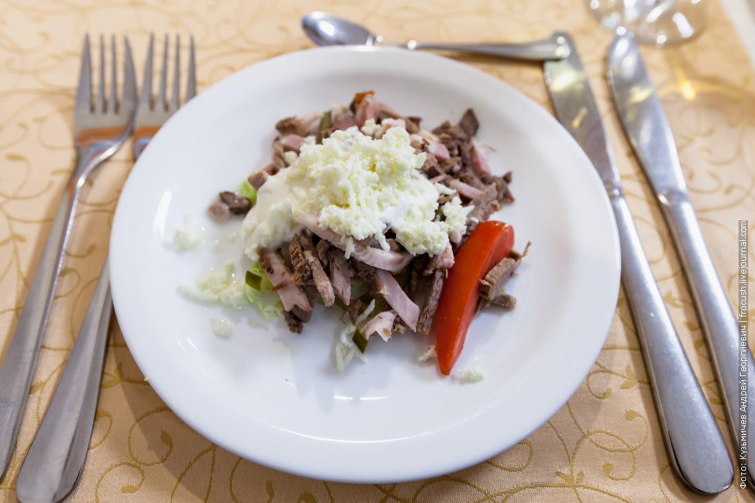 Ужин в Череповце. Салат «Сударушка»