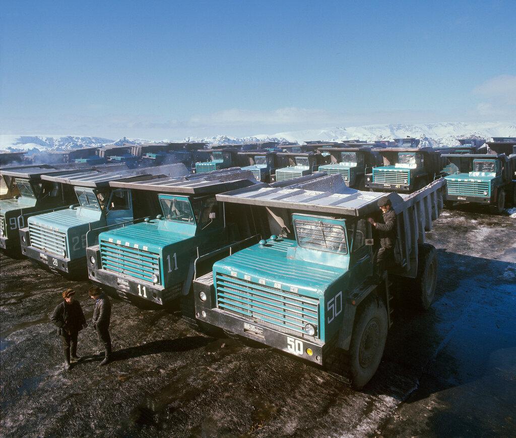 """На комбинате """"Апатит"""", 1974 год"""