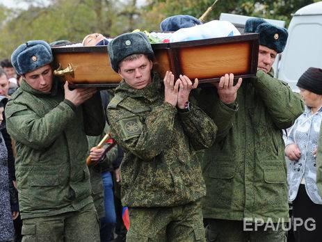С 2013 года Минобороны РФ оплатило похороны тысяче военных, - РБК