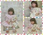 """Пакулева Мария, 2 года 6 месяцев, """"Мария в стране чудес""""  Это кукла """"Крольчиха хозяйка"""" из сказки """"Алиса в стране чудес"""", дата выпуска 1958г. Машеньке досталась от её бабушки, бабушка играла с ней в детстве."""