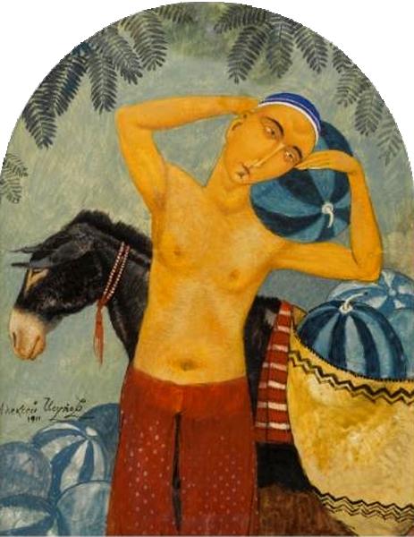 Продавец арбузов, 1911 год.png