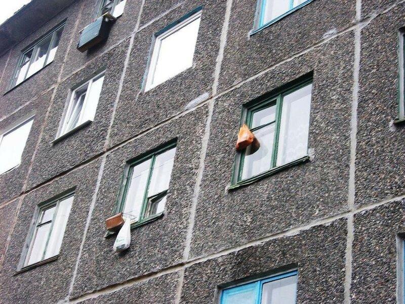 Авоськи за окном