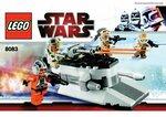 Инструкция Star wars LEGO 8083 Rebel Trooper Battle Pack (Боевое подразделение повстанцев)