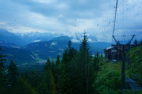 Летняя канатная дорога на гору Ванк