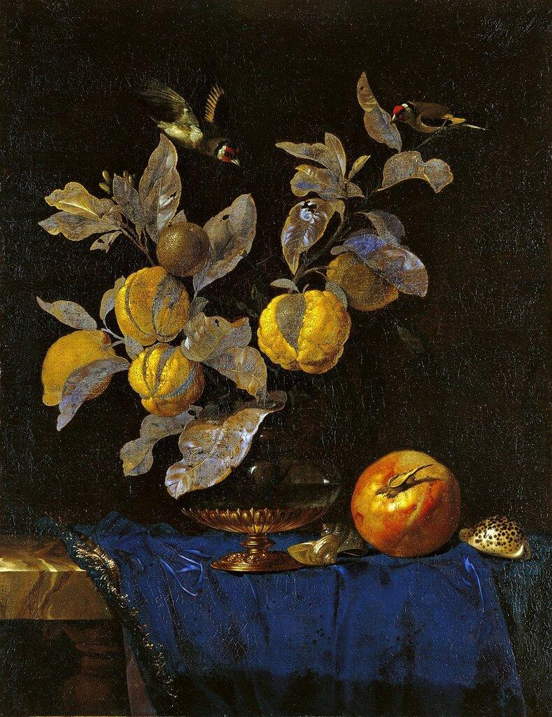 Натюрморт с фруктами. 1664. 67х52. М Тиссен-Борнемиса Мадрид.jpg