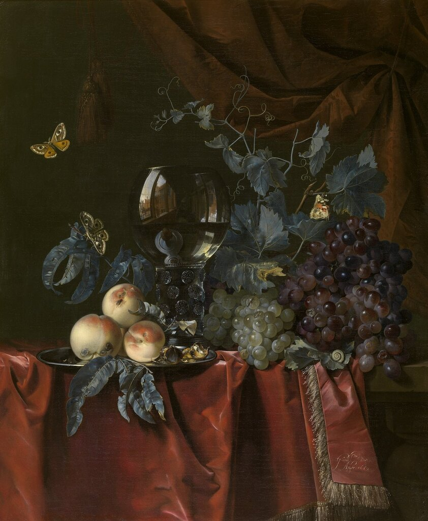Фрукты и бокал. 1659. 81х66. Корол м ис-в Антверпен.jpg