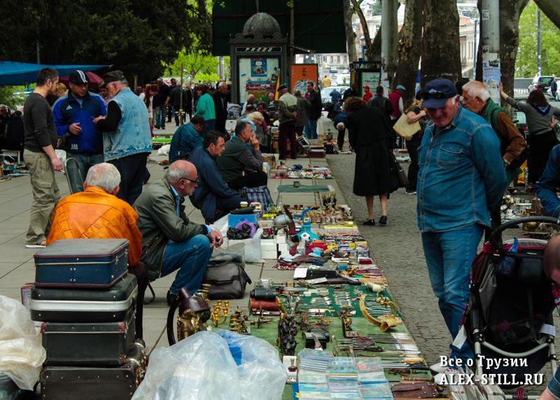 Где купить сувениры в Тбилиси