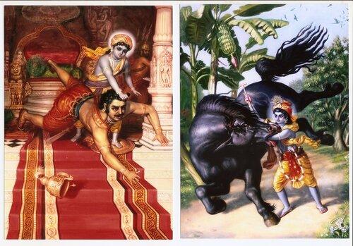 Картины художника Сатчитананды даса