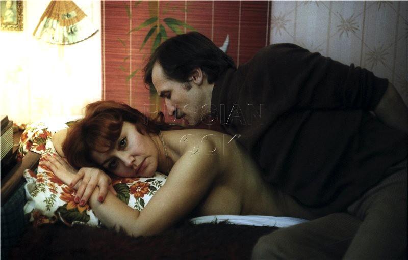 25. Земфира Цахилова и Леня Филатов в фильме «Грачи», 1982 год.