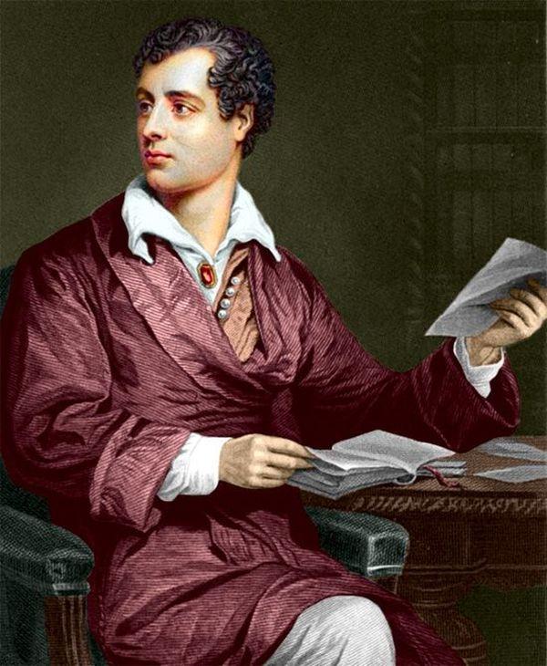 4. Великий поэт Байрон был хром, склонен к полноте и чрезвычайно любвеобилен — за год в В