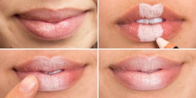© lady-journal  Чтобы карандаш для губ нетаял вовремя заточки, некоторое время подержите его