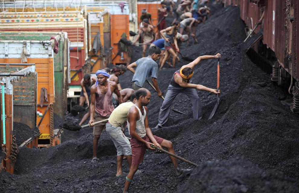 4. Угольная компания в провинции Шэньси, Китай. (Фото China Photos | Getty Images):