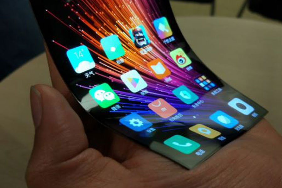 Компания Xiaomi выпустит сгибающийся смартфон MIUI 8