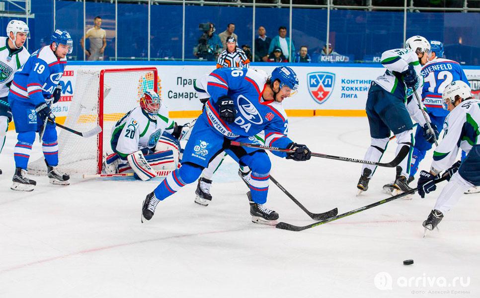 «Лада» одолела «Югру» вматче чемпионата КХЛ