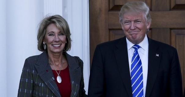 Дональд Трамп озвучил имя нового министра образования США