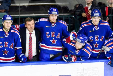 КХЛ. СКА одержал победу шестой матч подряд